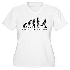 Evolution Hockey Woman B 2c.png T-Shirt