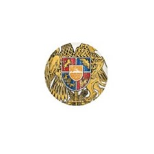 Armenia Coat Of Arms Mini Button (100 pack)