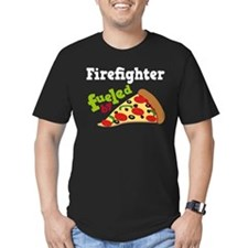 Firefighter Funny Pizza T