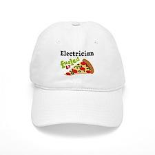 Electrician Funny Pizza Baseball Cap