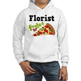 Florist Funny Pizza Jumper Hoody