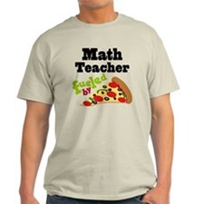 Math Teacher Funny Pizza T-Shirt