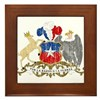 Chile Coat Of Arms Framed Tile