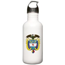 Colombia Coat Of Arms Water Bottle