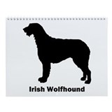 Irish Wolfhound Wall Calendar
