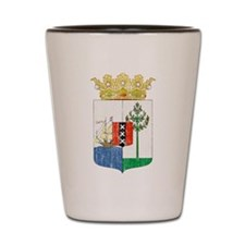 Curacao Coat Of Arms Shot Glass