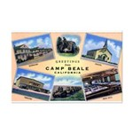 Camp Beale California Mini Poster Print