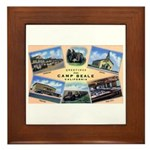 Camp Beale California Framed Tile