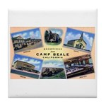 Camp Beale California Tile Coaster