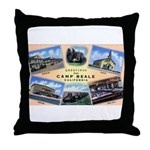 Camp Beale California Throw Pillow
