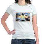 Camp Beale California (Front) Jr. Ringer T-Shirt
