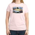 Camp Beale California (Front) Women's Pink T-Shirt