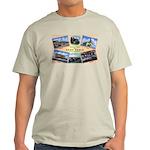 Camp Beale California (Front) Ash Grey T-Shirt