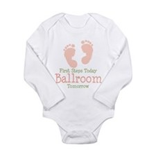 Cool Ballroom Long Sleeve Infant Bodysuit
