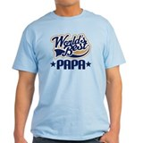Papa (Worlds Best) T-Shirt