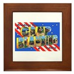 Camp Blanding Florida Framed Tile