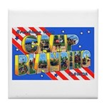 Camp Blanding Florida Tile Coaster