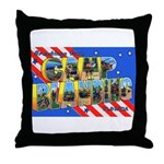 Camp Blanding Florida Throw Pillow