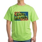 Camp Blanding Florida Green T-Shirt
