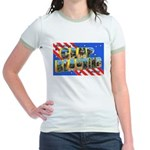 Camp Blanding Florida Jr. Ringer T-Shirt