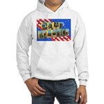 Camp Blanding Florida (Front) Hooded Sweatshirt