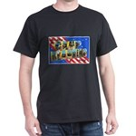 Camp Blanding Florida (Front) Black T-Shirt