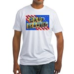 Camp Blanding Florida (Front) Fitted T-Shirt