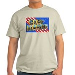 Camp Blanding Florida (Front) Ash Grey T-Shirt
