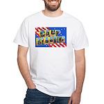 Camp Blanding Florida (Front) White T-Shirt