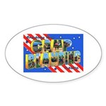 Camp Blanding Florida Oval Sticker