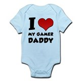 I Heart My Gamer Daddy! Infant Bodysuit