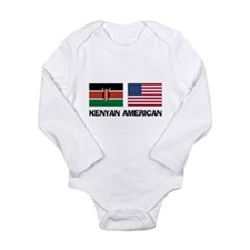 Cute Kenyan travel Long Sleeve Infant Bodysuit
