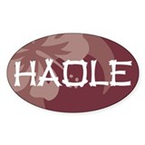 Haole Decal