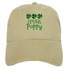 Irish Poppy Grandpa Baseball Cap