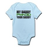 My Daddy PWN3D Your Daddy! Infant Bodysuit