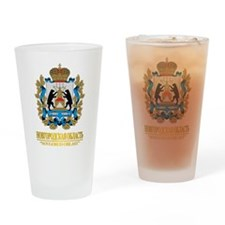 Novgorod Oblast COA Drinking Glass