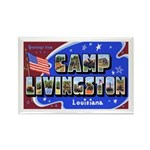 Camp Livingston Louisiana Rectangle Magnet (10 pac