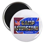 Camp Livingston Louisiana Magnet