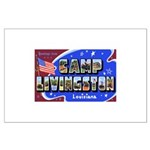 Camp Livingston Louisiana Large Poster