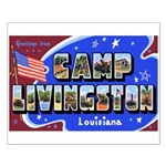 Camp Livingston Louisiana Small Poster