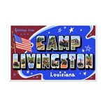 Camp Livingston Louisiana Mini Poster Print
