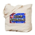 Camp Livingston Louisiana Tote Bag