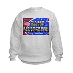 Camp Livingston Louisiana Kids Sweatshirt