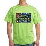 Camp Livingston Louisiana Green T-Shirt