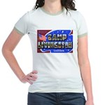 Camp Livingston Louisiana (Front) Jr. Ringer T-Shi