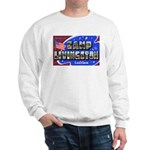 Camp Livingston Louisiana (Front) Sweatshirt
