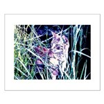 Colorful Cat Small Poster