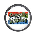 Camp Shelby Mississippi Wall Clock