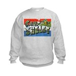 Camp Shelby Mississippi (Front) Kids Sweatshirt