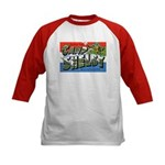 Camp Shelby Mississippi (Front) Kids Baseball Jers